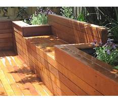 Composite landscape timber retaining wall Plan