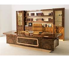 Contemporary home office furniture sets Plan