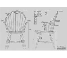 Continuous arm windsor chair plans Plan