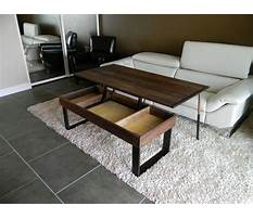 Convertible coffee table ikea Plan