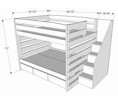 Cool bed blueprints Plan