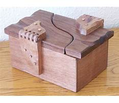 Cool wood projects small box Plan