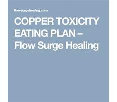 Copper toxicity diet plan Plan