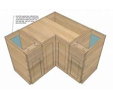 Corner base cabinet plans Plan