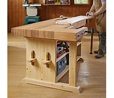 Cost to build a woodworking bench Plan