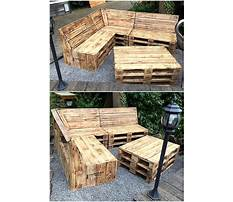 Crafts from old wooden pallets Plan