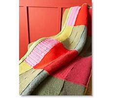 Crafts from old wool sweaters Plan