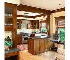 Craftsman style kitchen remodel Plan