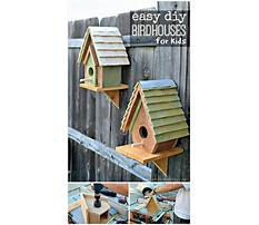 Creative clay birdhouses Plan