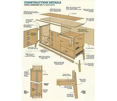 Credenza furniture plans Plan