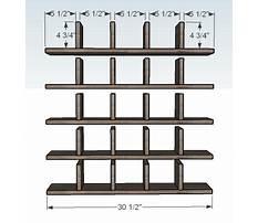 Cubby hole shelves plans.aspx Plan
