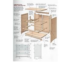 Curved drawer dresser plans Plan