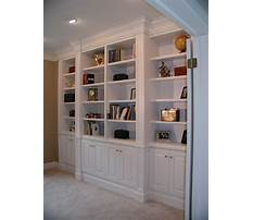 Custom bookshelves plans Plan
