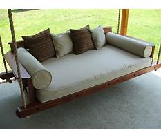 Custom carolina porch swings Plan