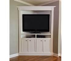Custom corner entertainment cabinets Plan