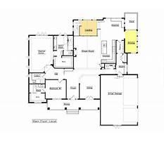 Custom house plans open floor plans Plan