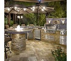 Custom outdoor kitchens near me Plan