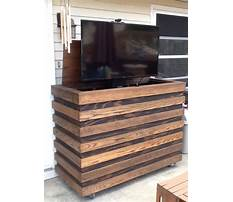 Custom outdoor tv lift cabinets Plan