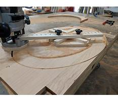Cutting an ellipse jig Plan