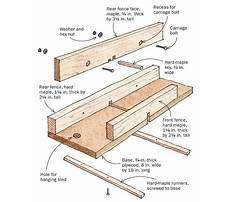 Cutting box joints Plan