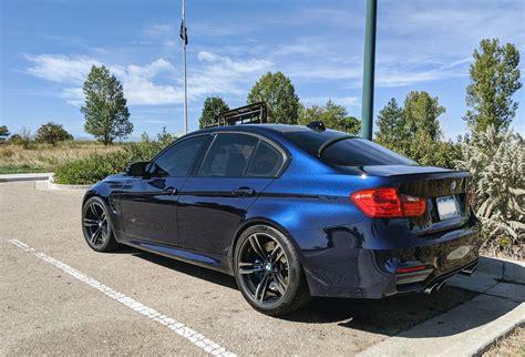 Dark Blue Bmw Car