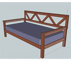 Day bed construction plans Plan