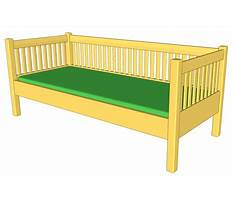 Daybed construction plans Plan