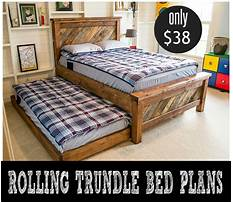 Daybed plans with trundle Plan