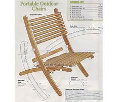 Deck chair plans nesting Plan