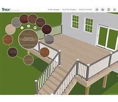 Deck design app Plan