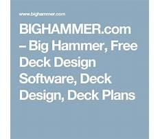 Deck design big hammer.aspx Plan