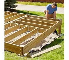 Deck designs lowes.aspx Plan