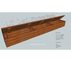 Deck storage bench plans.aspx Plan