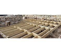 Decking framework.aspx Plan