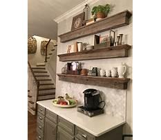 Decorative kitchen shelving ideas Plan