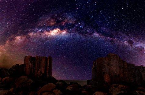 Desert Night Sky Wallpaper