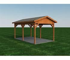 Design and build your own carport.aspx Plan