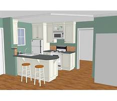 Designing kitchen cabinets with sketchup Plan