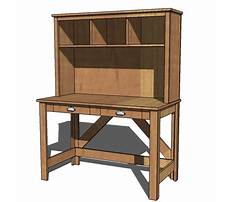 Desk and hutch plans Plan