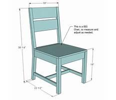 Desk chair diy Plan