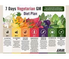 Detailed gm diet for vegetarians Plan
