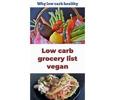 Different low carb diets Plan