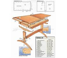 Dining table woodworking plans Plan