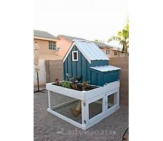 Directions for building a small chicken coop Plan