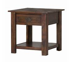 Distressed wood end tables Plan