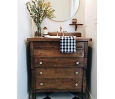 Diy bathroom vanity from old dresser Plan