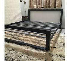 Diy bed frame metal Plan