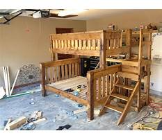 Diy bunk bed twin over full Plan