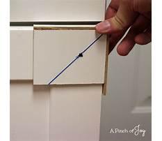Diy cabinet hardware template Plan