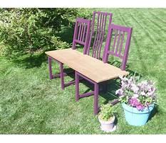 Diy chair to bench.aspx Plan